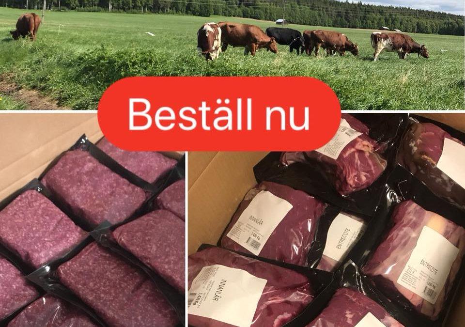 Nu tar vi emot beställningar på köttlådor