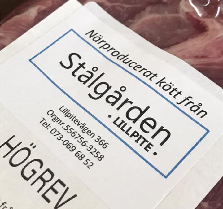 Denna fredag har vi paketerat köttlådor